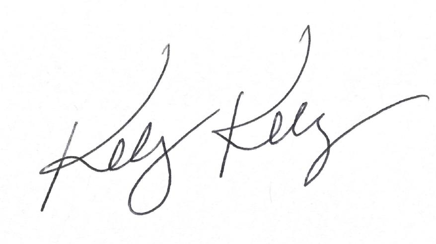 Kelly Kelly Signature